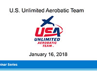 Webinar – U.S. Unlimited Aerobatic Team